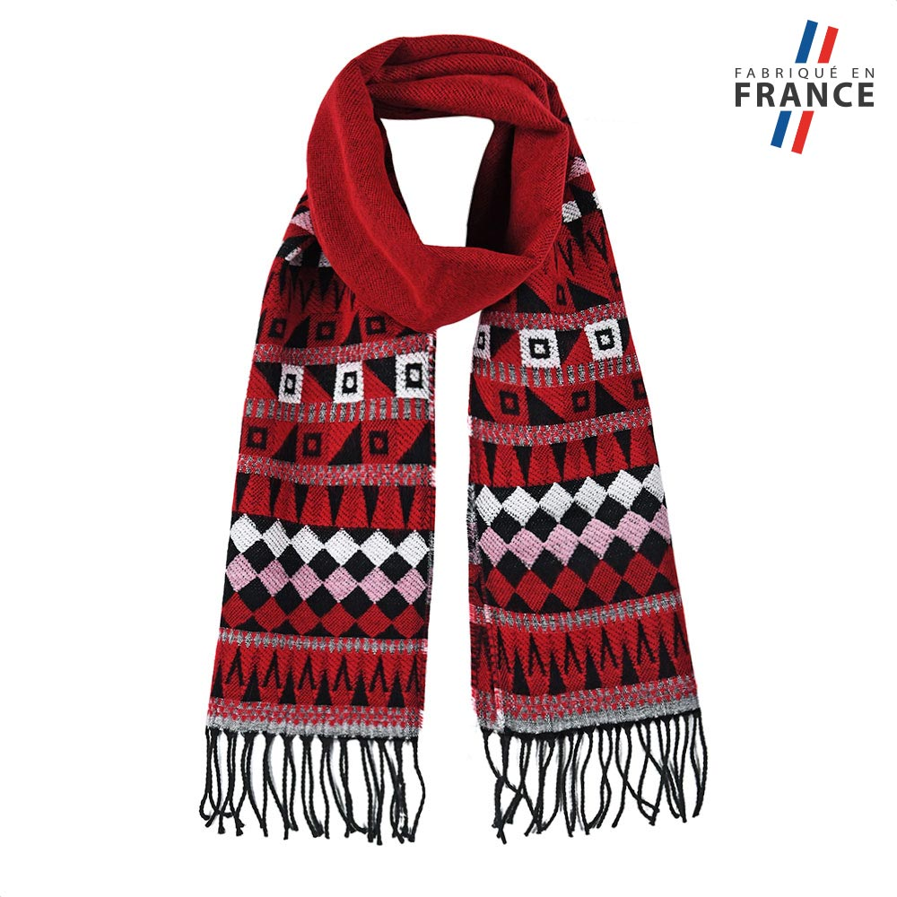 AT-05742-F10-FR-echarpe-fantaisie-rouge-fabrication-francaise