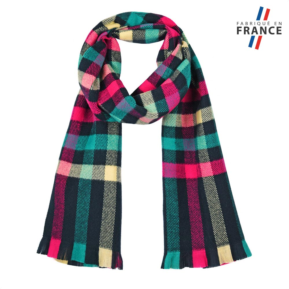 AT-05616-F10-FR-echarpe-carreaux-multicolore-made-in-france
