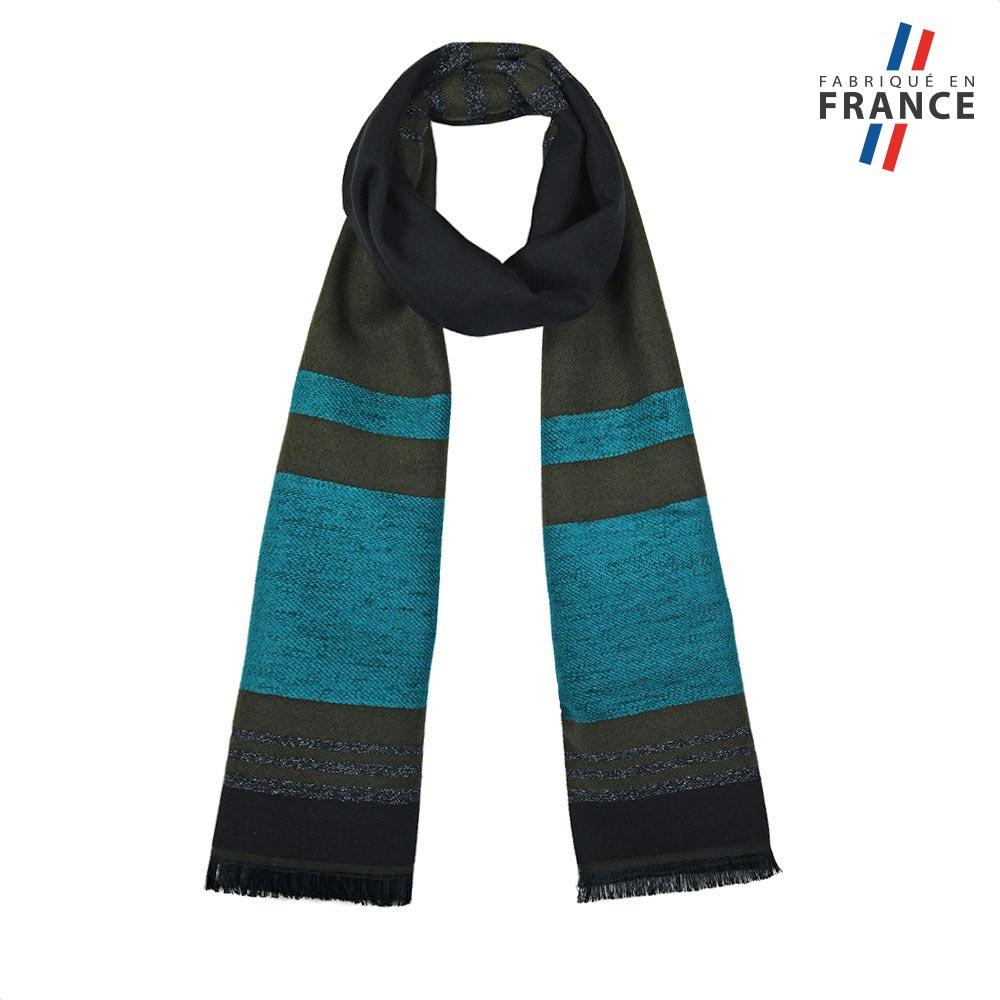 AT-05618-F10-FR-echarpe-kaki-bleu-fabriquee-en-france