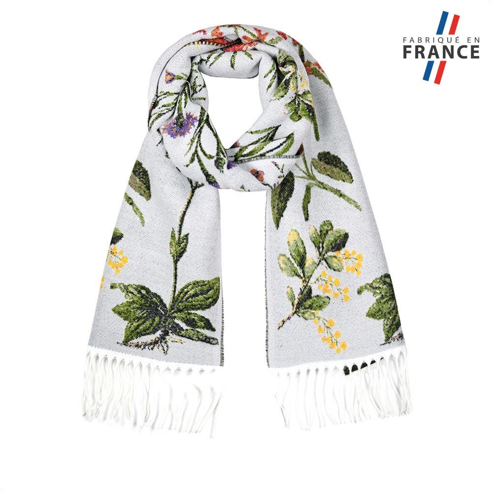AT-05639-F10-FR-echarpe-femme-feuillage-blanche