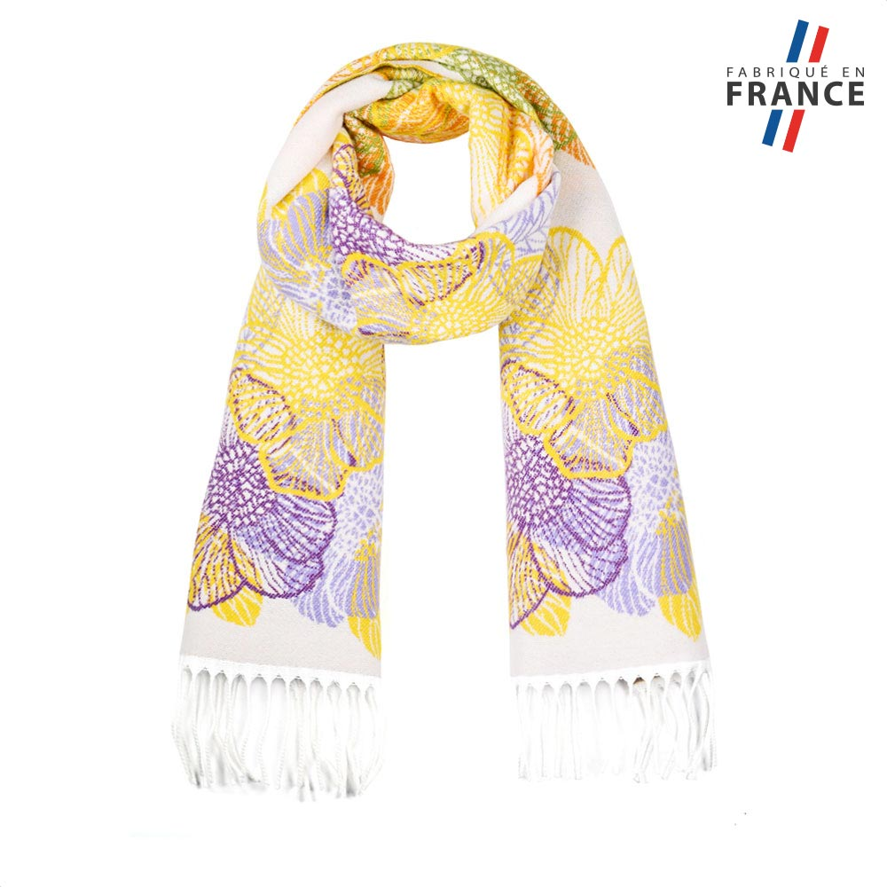 AT-05642-F10-FR-echarpe-femme-jaune-motifs-floraux