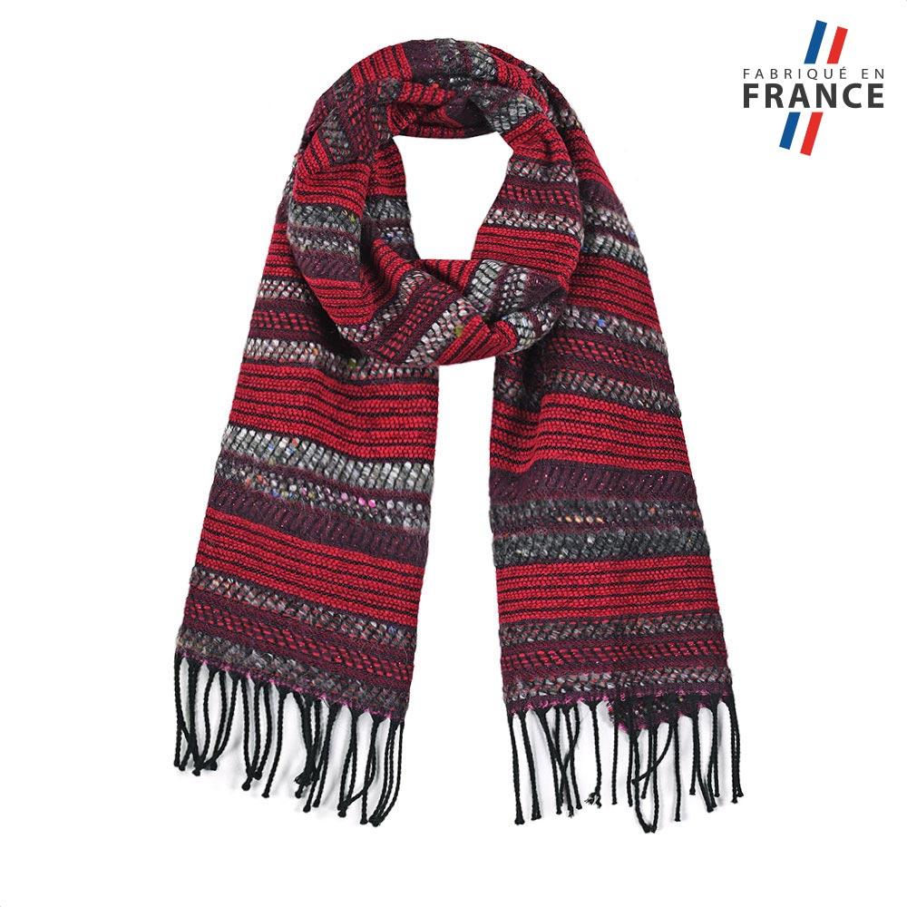 AT-05687-F10-FR-echarpe-femme-surpiqures-rouge