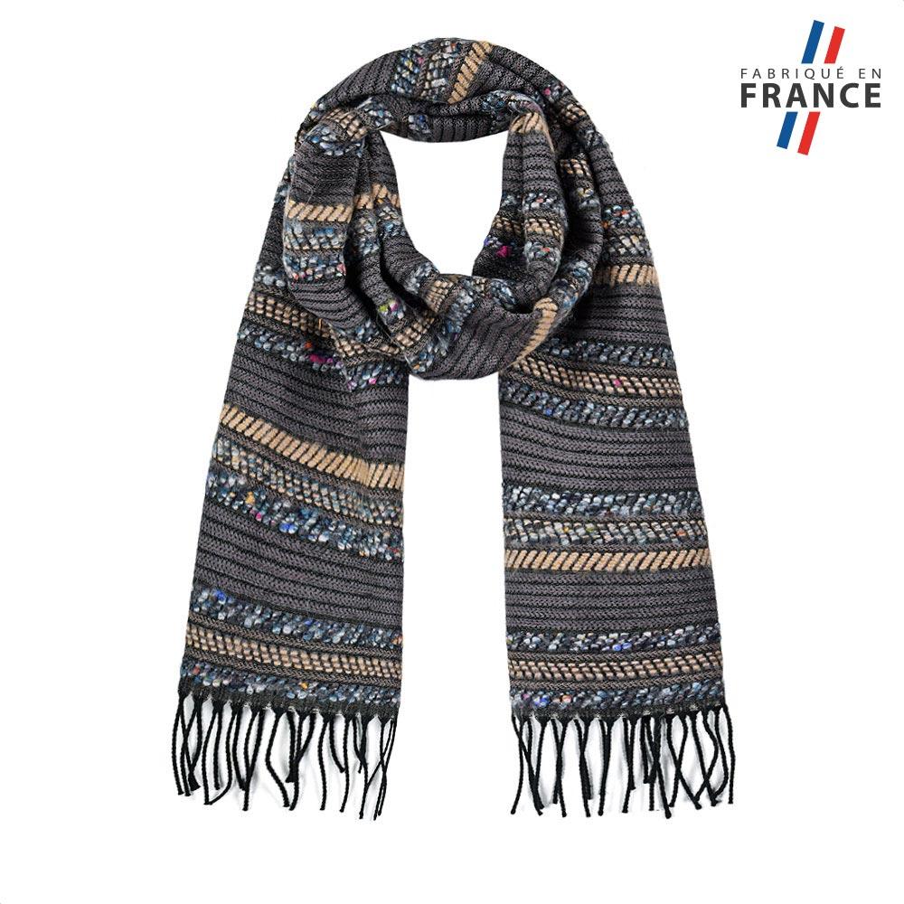 AT-05688-F10-FR-echarpe-femme-surpiqures-grise-made-in-france