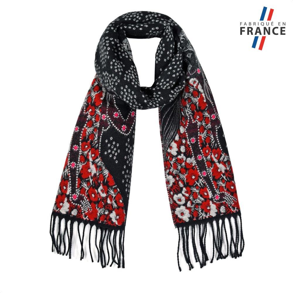 AT-05717-F10-FR-echarpe-hiver-fleurs-rouge-fabrication-française