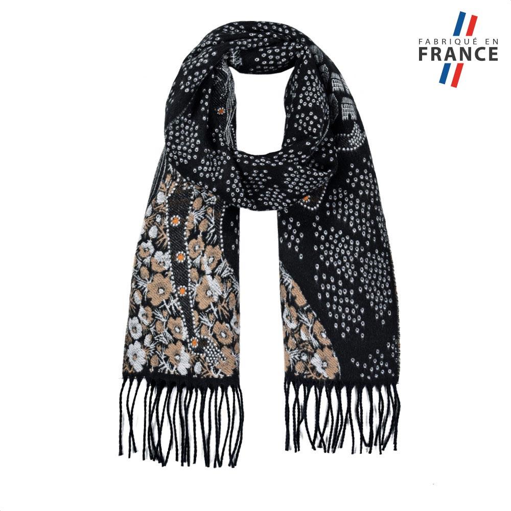 AT-05718-F10-FR-echarpe-femme-grise-label-france
