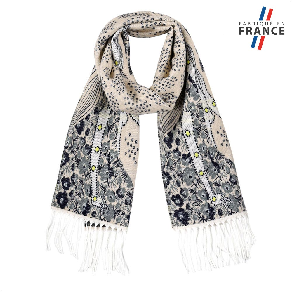 AT-05719-F10-FR-echarpe-femme-fines-fleurs-beige