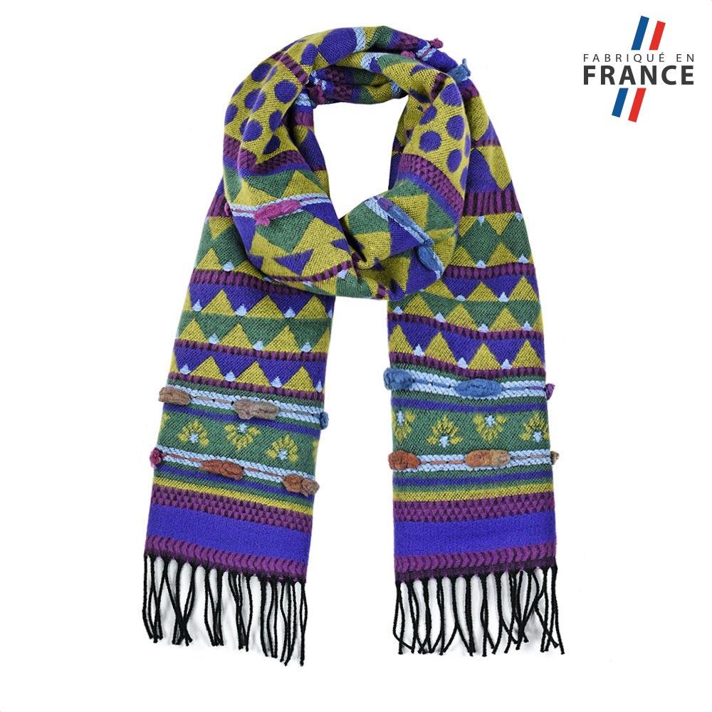 AT-05723-F10-FR-echarpe-rayures-vert-bleu-fabrication-française