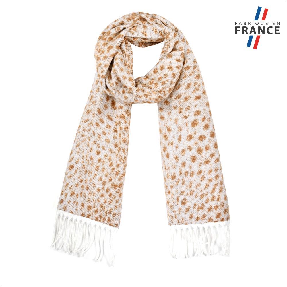 AT-05722-F10-FR-echarpe-femme-mouchetee-creme