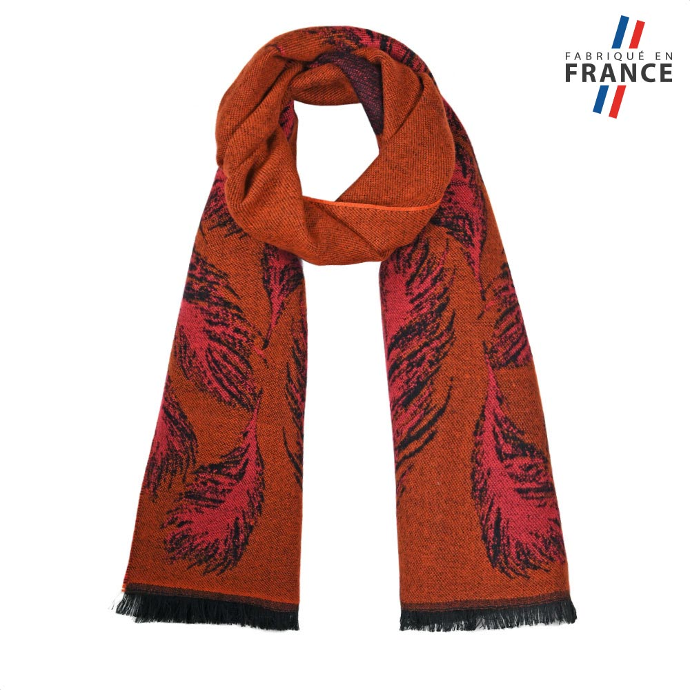 AT-05787-F10-FR-echarpe-femme-marron-plumes