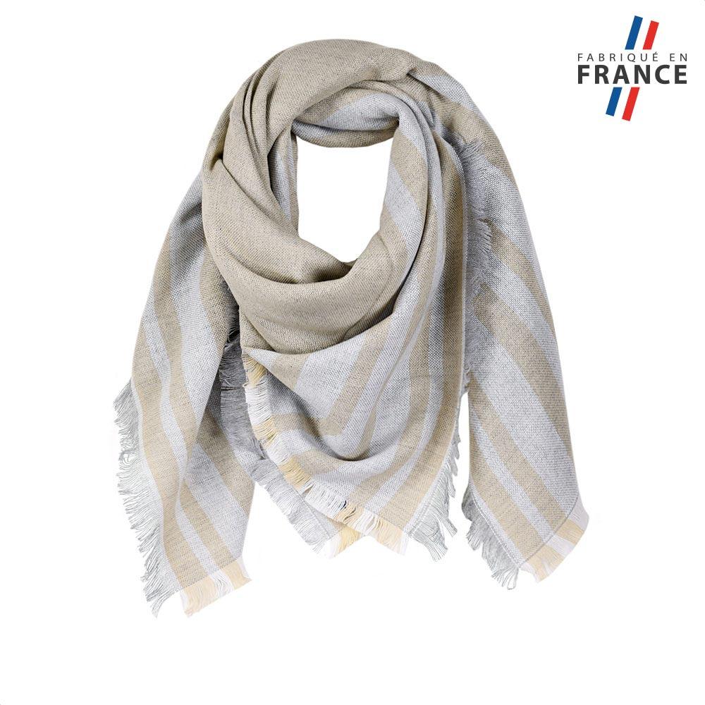AT-05823-F10-FR-echarpe-carre-femme-beige-made-in-france
