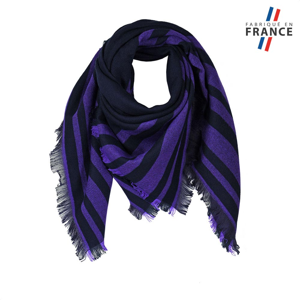 AT-05825-F10-FR-echarpe-carree-rayures-violettes-made-in-france