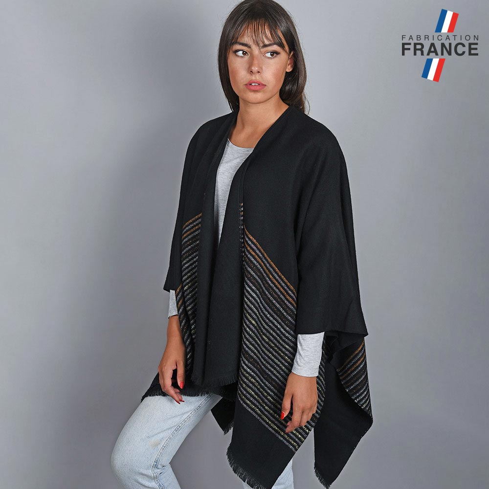 AT-04817-VF10-1-LB_FR-poncho-femme-rayures-metal