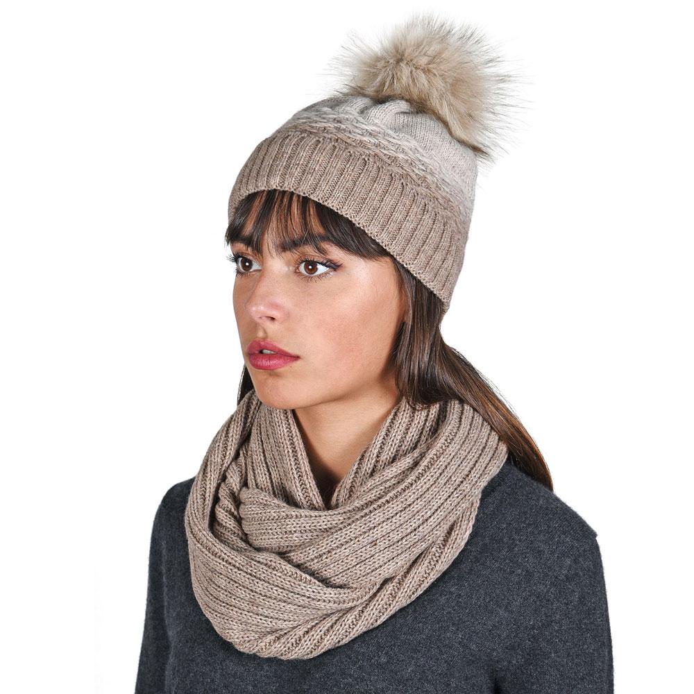 AT-05893-VF10-P-ensemble-bonnet-et-snood-degrade-marron