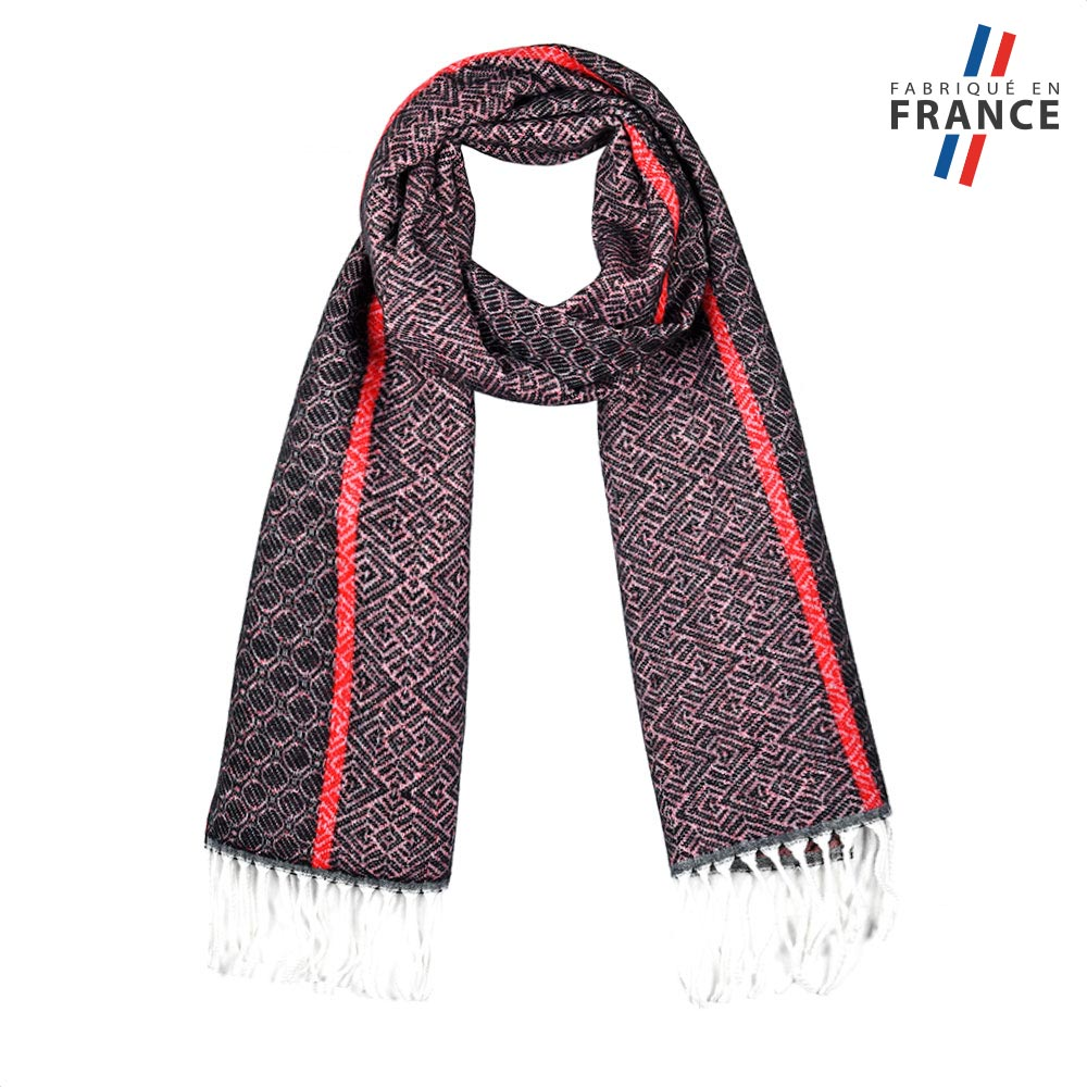 AT-05762-F10-2-LB_FR-echarpe-femme-graphique-violet-fabrication-LB_FRance