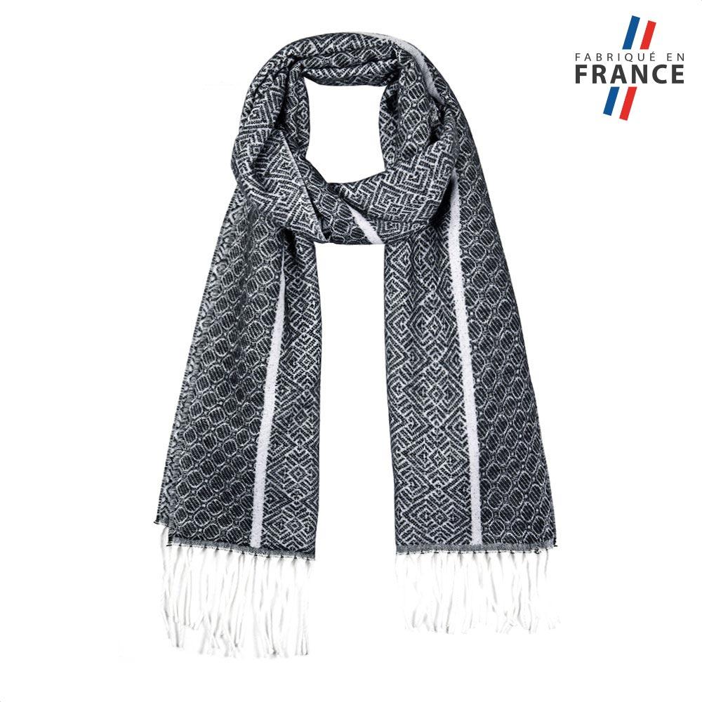 AT-05763-F10-2-LB_FR-echarpe-motifs-geometriques-grise-fabrication-LB_FRancaise