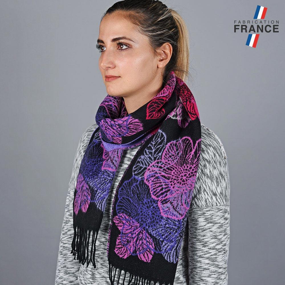 AT-05641-VF10-LB_FR-echarpe-fleurs-violettes-made-in-france