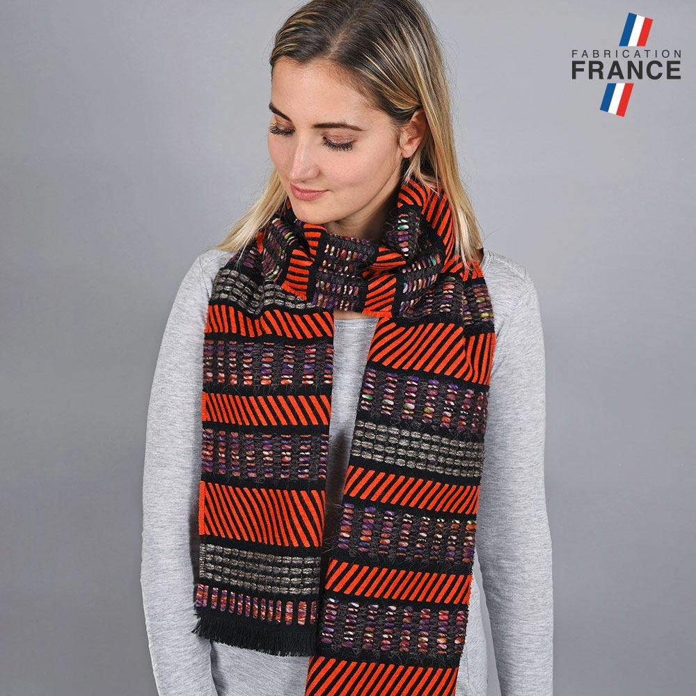 AT-05674-VF10-LB_FR-echarpe-rayee-orange-made-in-france