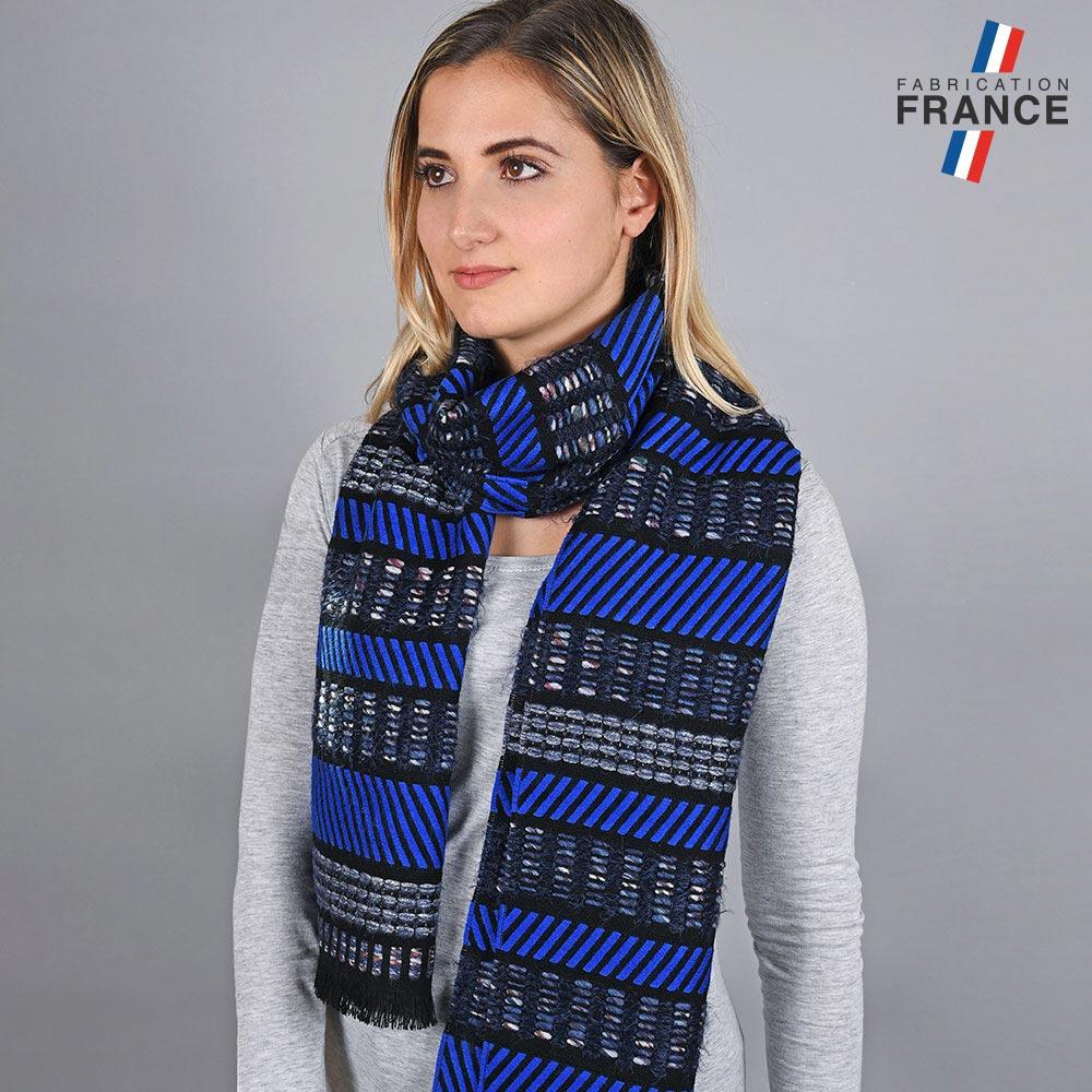 AT-05673-VF10-LB_FR-echarpe-femme-fantaisie-bleue-made-in-france