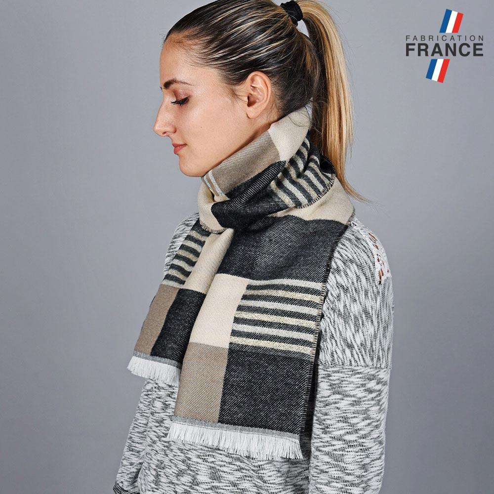 AT-05690-VF10-LB_FR-echarpe-carreaux-beige-gris-made-in-france