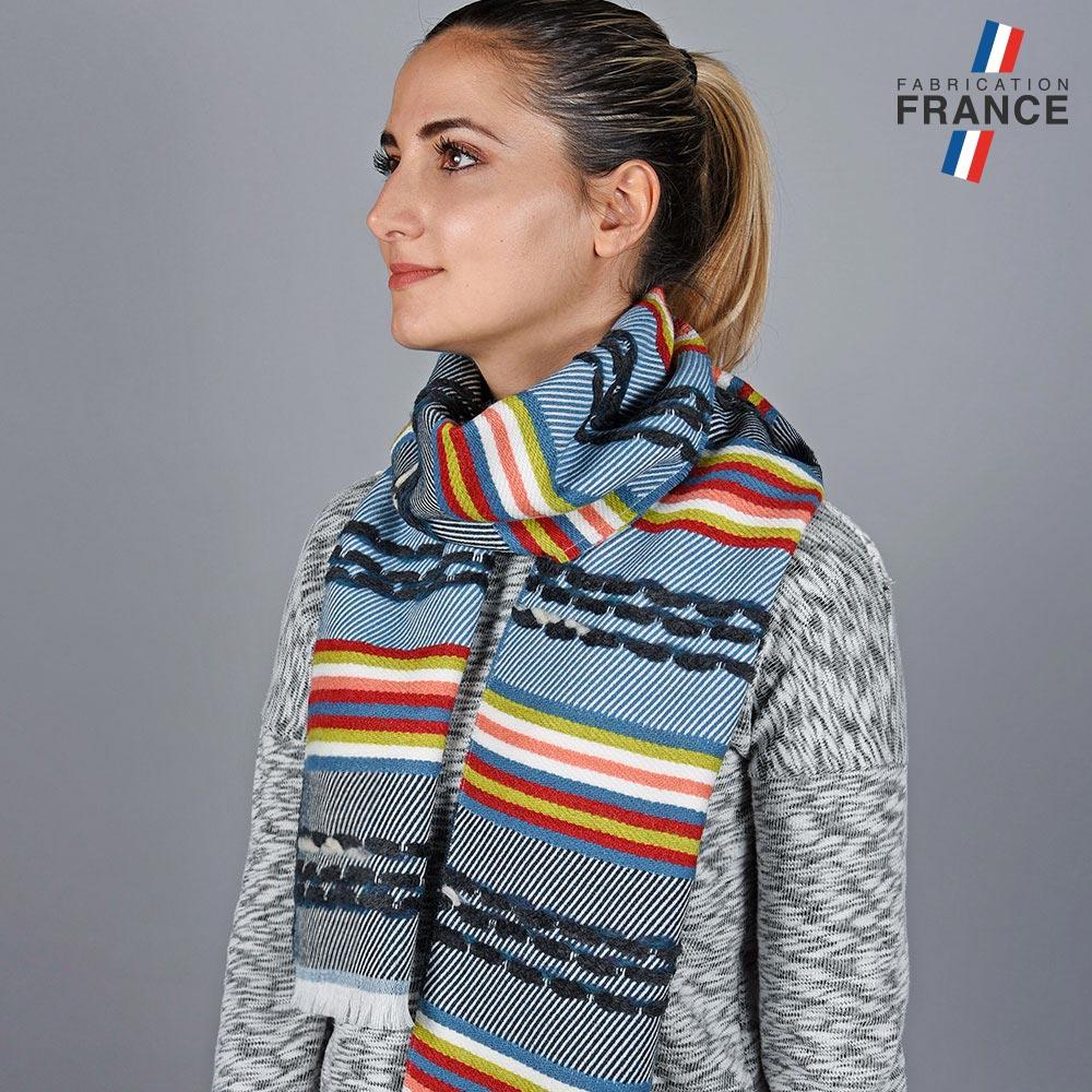 AT-05714-VF10-LB_FR-echarpe-femme-fantaisie-bleue-fabriquee-en-france