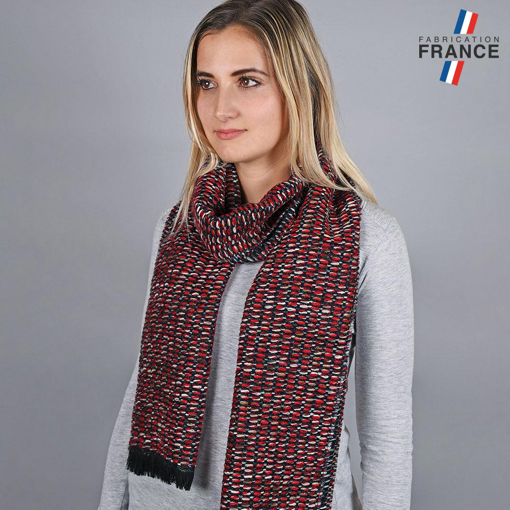 AT-05756-VF10-LB_FR-echarpe-femme-chinee-rouge-made-in-france