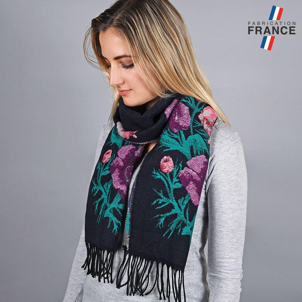 AT-05758-VF10-LB_FR-echarpe-femme-fleurs-violet-made-in-france