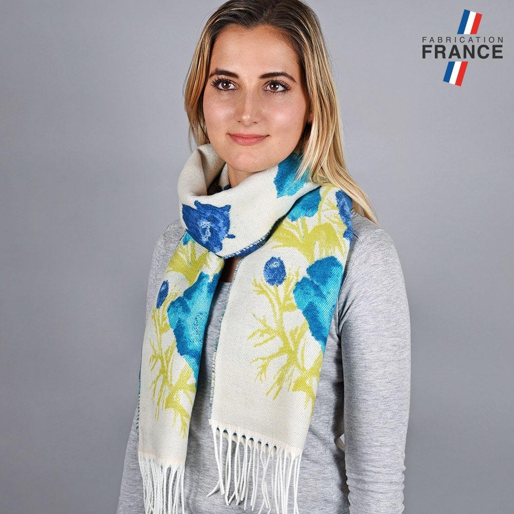 AT-05759-VF10-LB_FR-echarpe-femme-blanche-fleurs-bleues