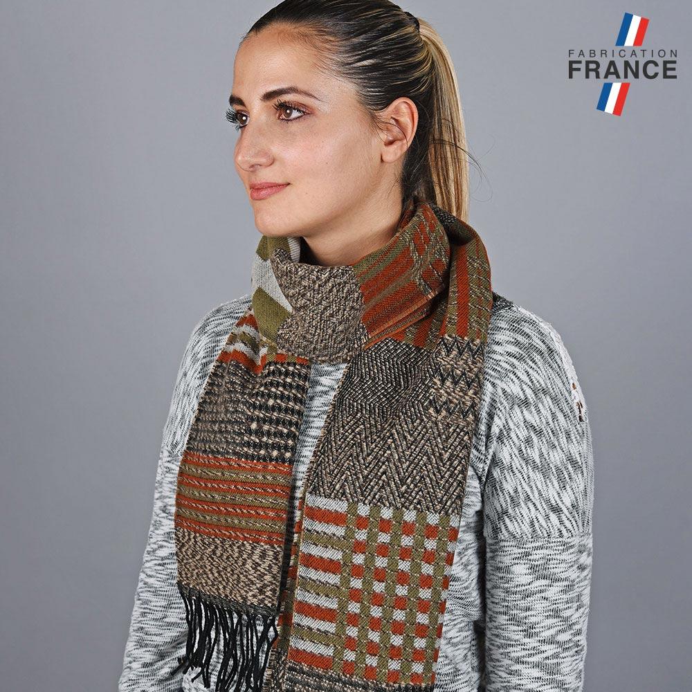 AT-05784-VF10-LB_FR-echarpe-patchwork-marron-fabrique-en-france