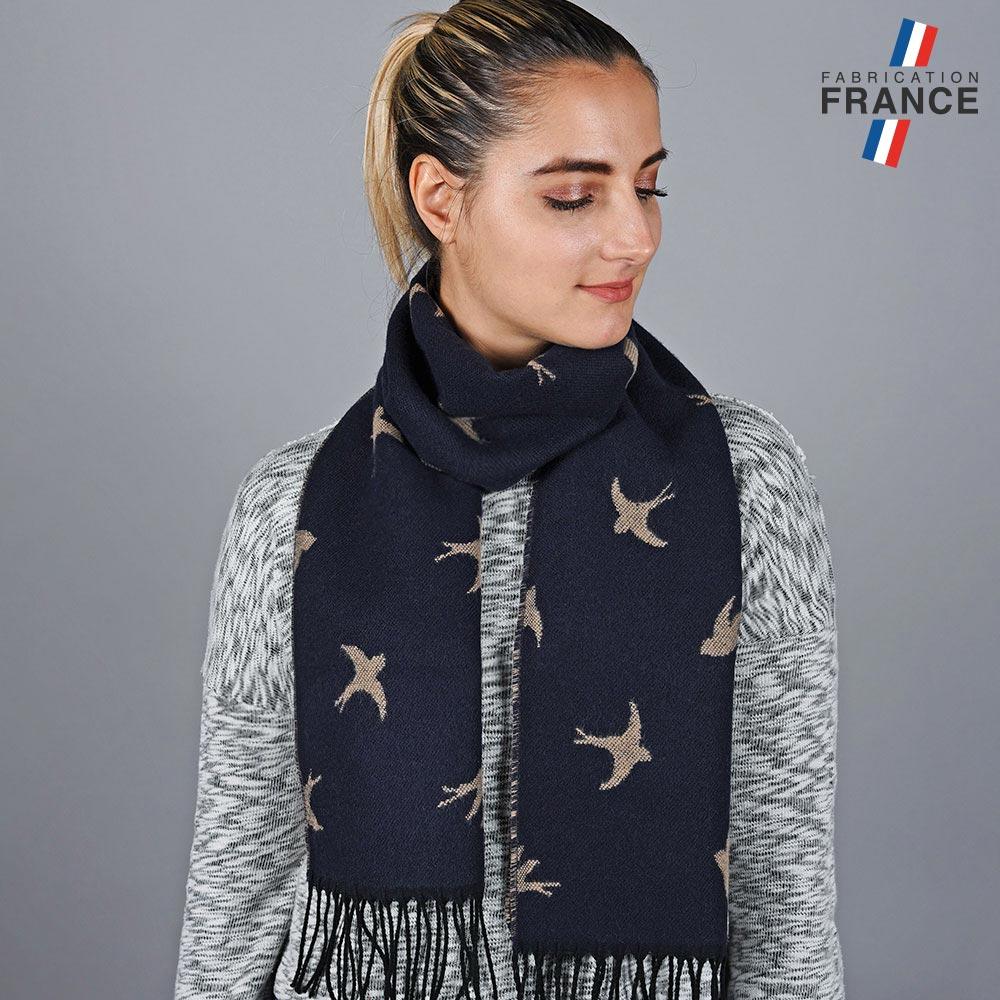 AT-05789-VF10-LB_FR-echarpe-femme-hirondelles-marine-fabrique-en-france