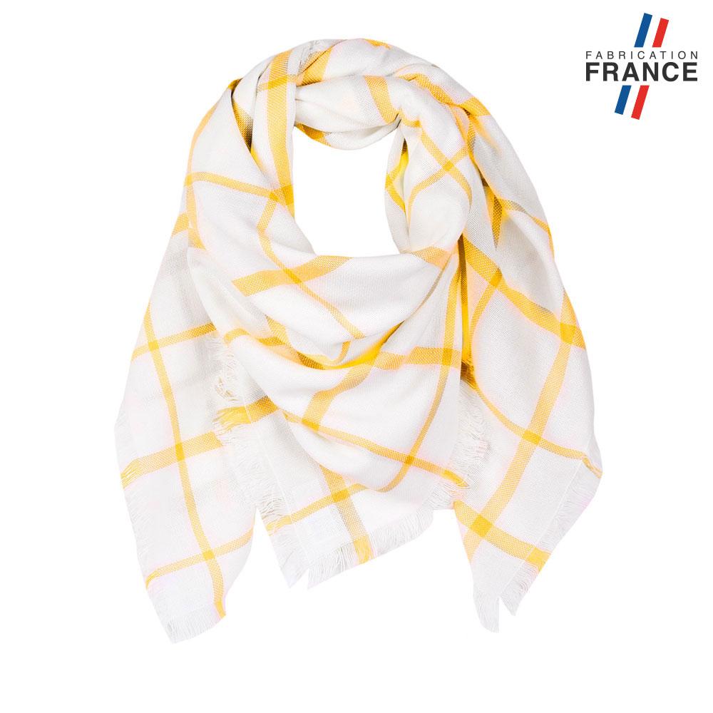 AT-05937-F10-LB_FR-echarpe-carreux-jaune-fabrication-france