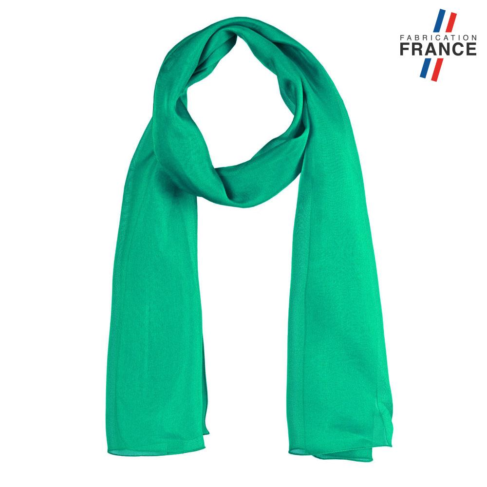 AT-06006-F10-LB_FR-echarpe-mousseline-soie-verte-bouteille