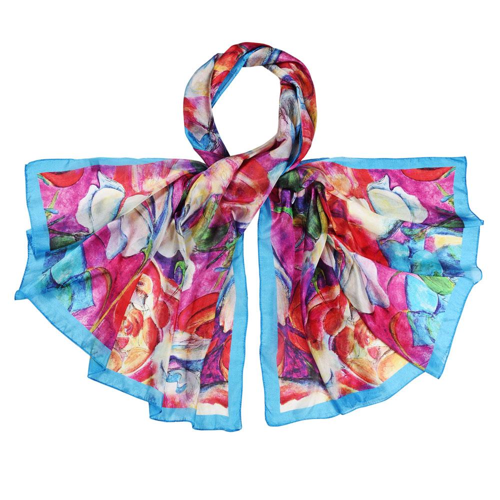 AT-05956-F10-etole-soie-fleurs-abstraites-multicolores