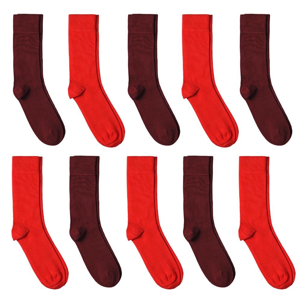 CH-00726-A10-P-lot-10-paires-de-chaussettes-homme-assorties-rouges-unies