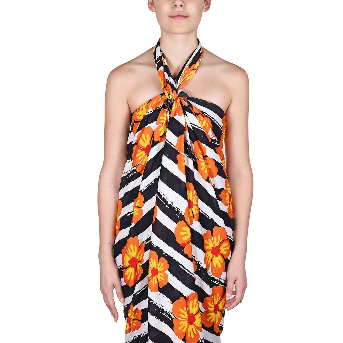 AT-06092-VF12-P-pareo-femme-batik-fleurs-oranges