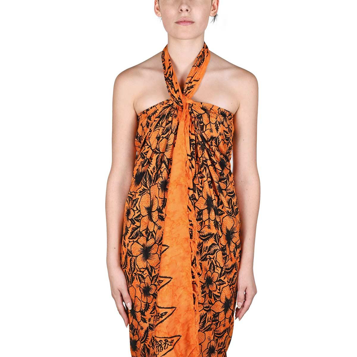 AT-06097-VF12-P-pareo-femme-orange-hibiscus