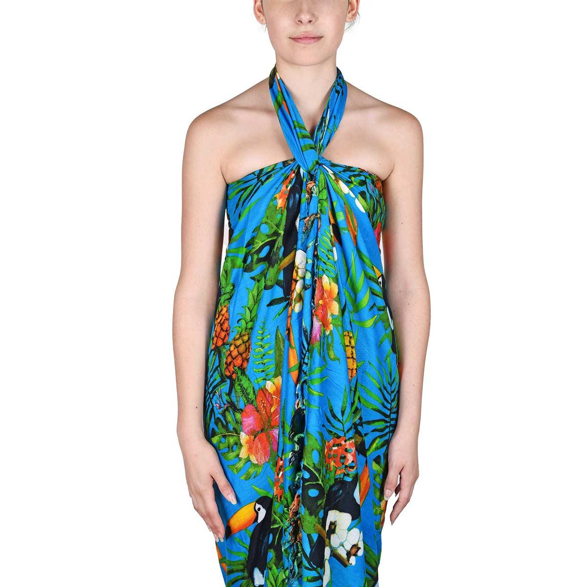AT-06104-VF12-P-pareo-femme-bleu-motifs-toucans