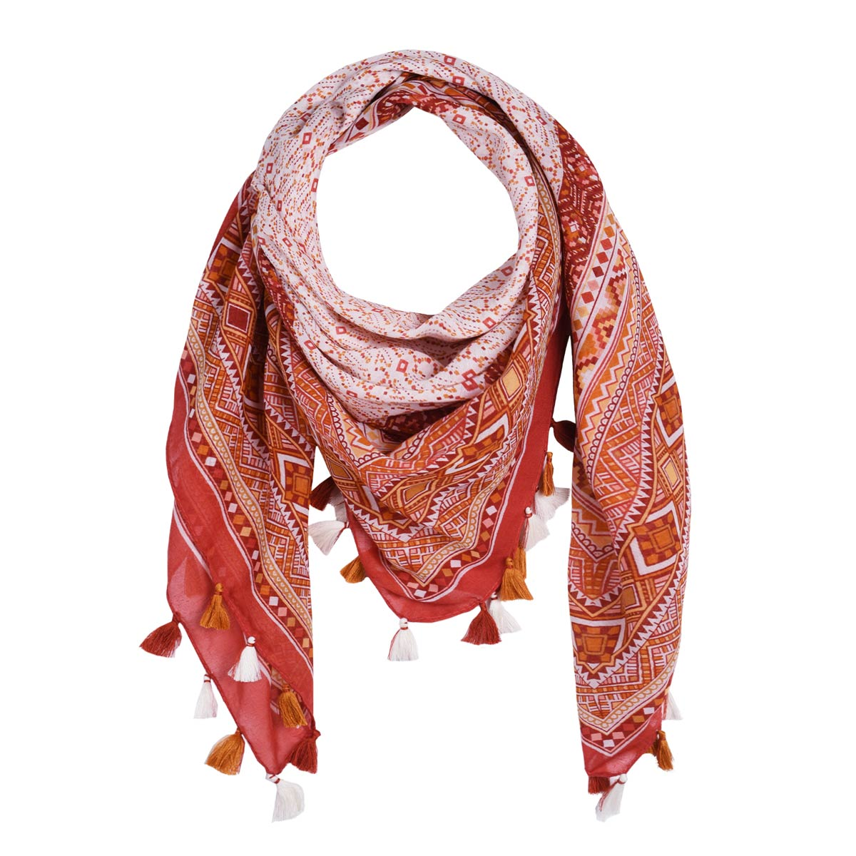 AT-06130-F12-foulard-fantaisie-rouge-marron