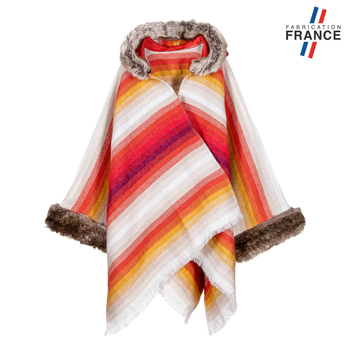 AT-06143-F12-LB_FR-poncho-raye-avec-col-fourrure-made-in-france