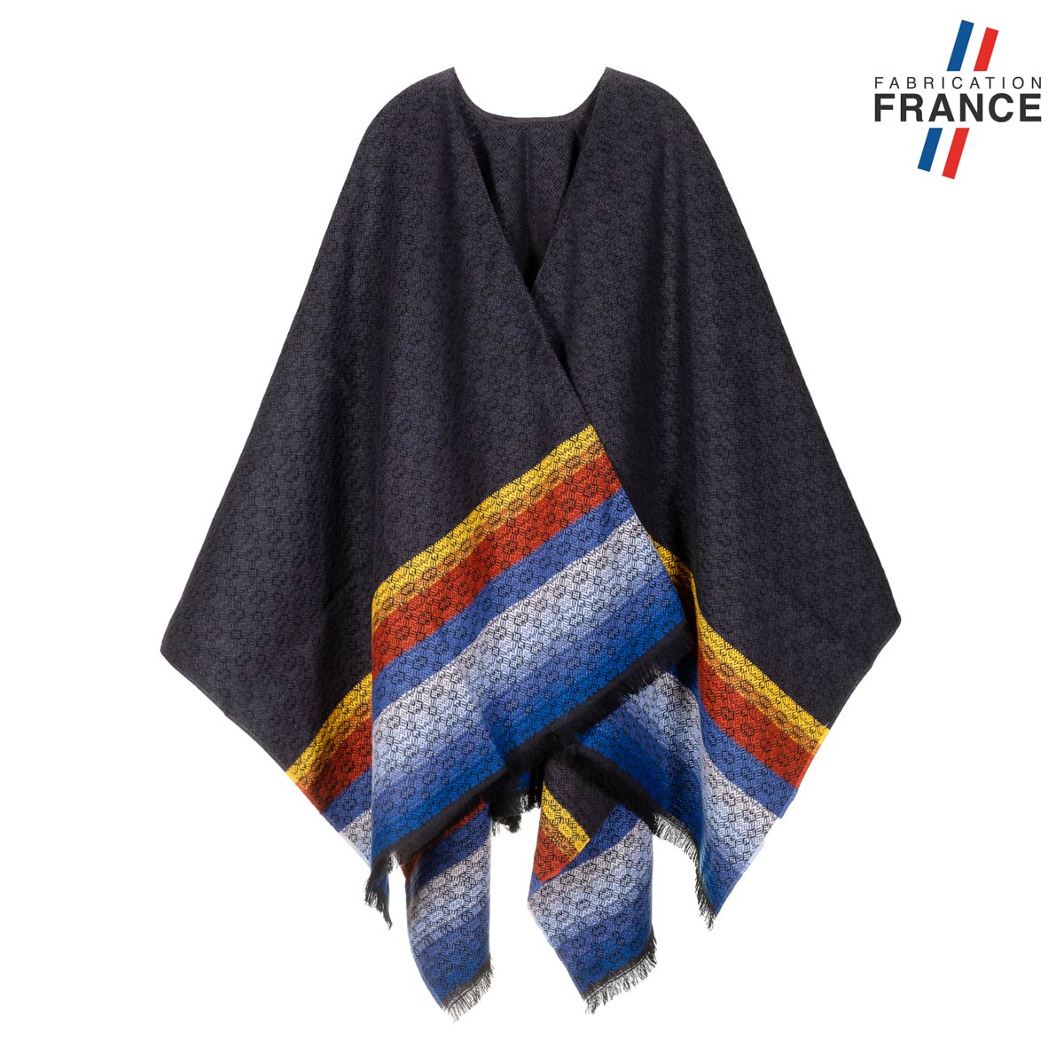 AT-06161-F12-LB_FR-poncho-femme-anthracite-a-rayures-made-in-france