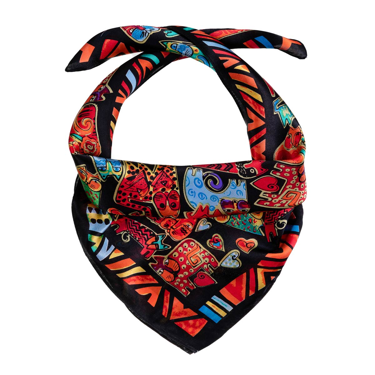 AT-06269-F12-foulard-carre-soie-orange-chats