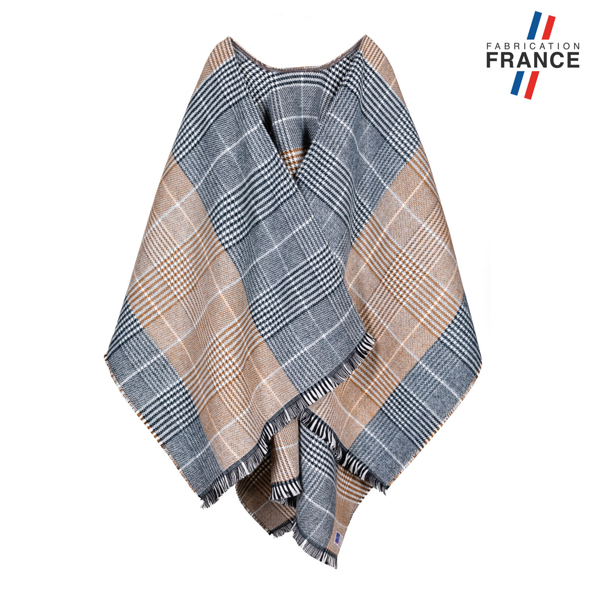 AT-06310-F12-LB_FR-poncho-ecossais-beige-made-in-france