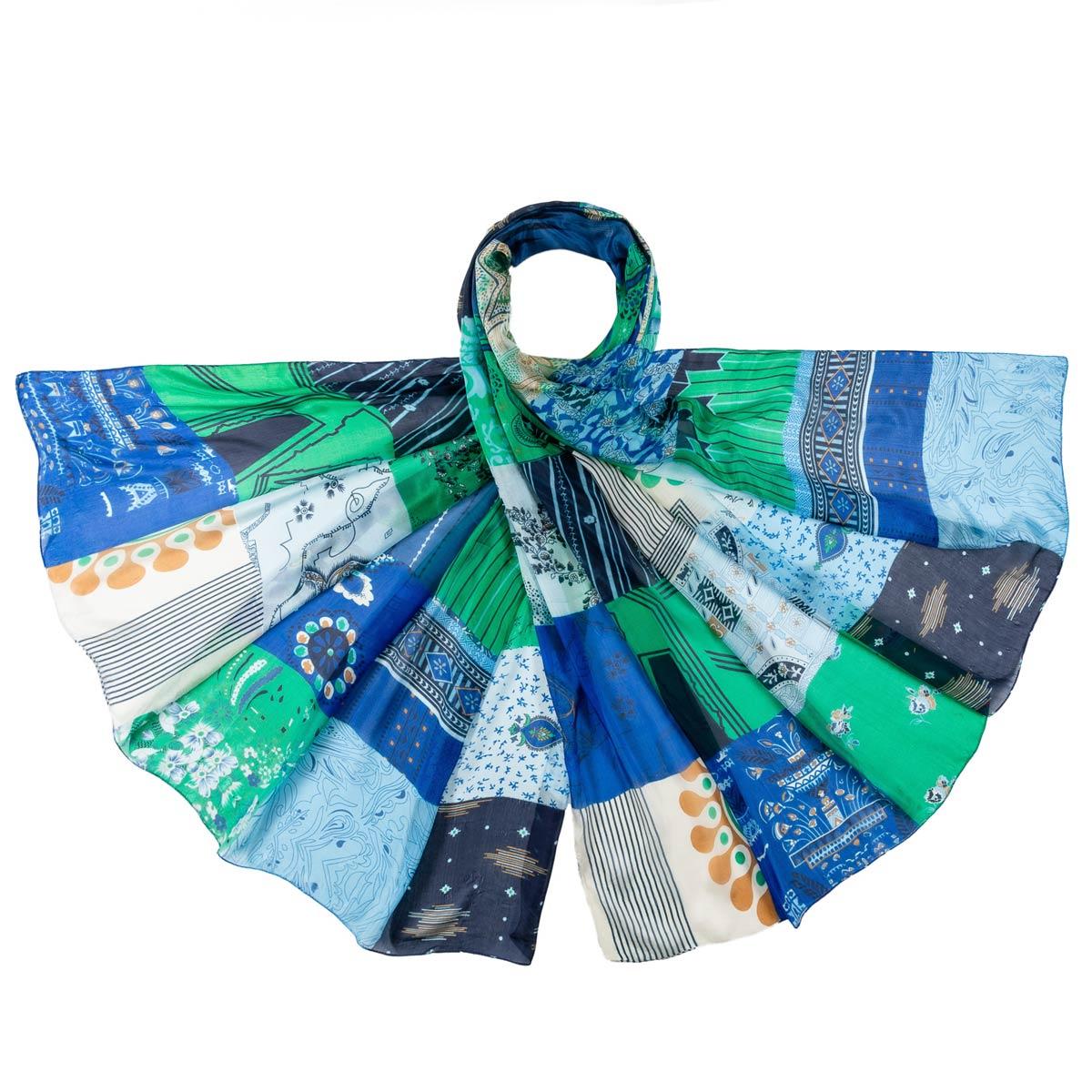 AT-06351-F12-etole-soie-fine-bleue-patchwork