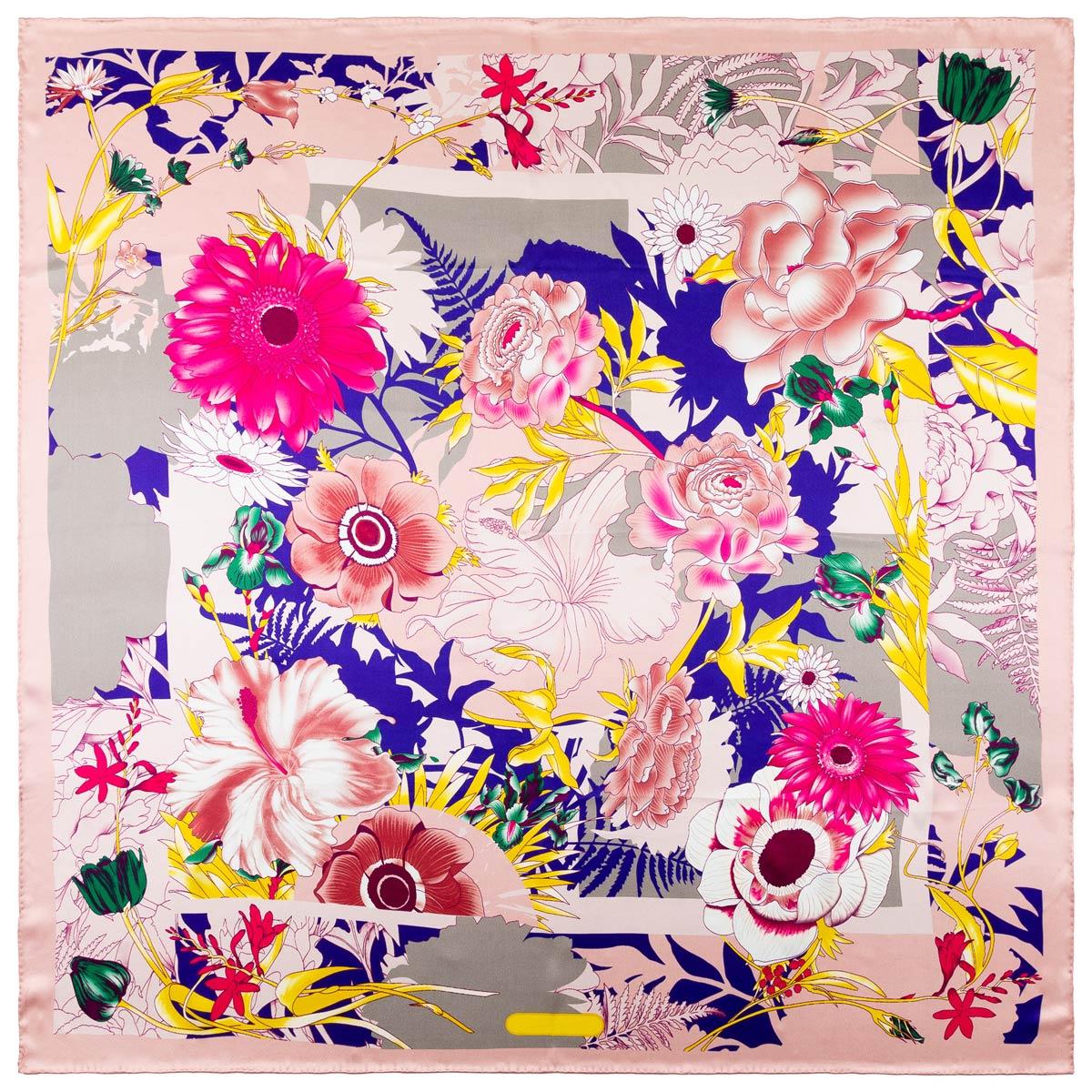 AT-06337-A12-carre-soie-bouquet-fleurs-rose