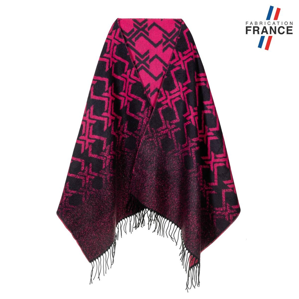 AT-05521_F12-1FR_Chale-femme-fuchsia-noir