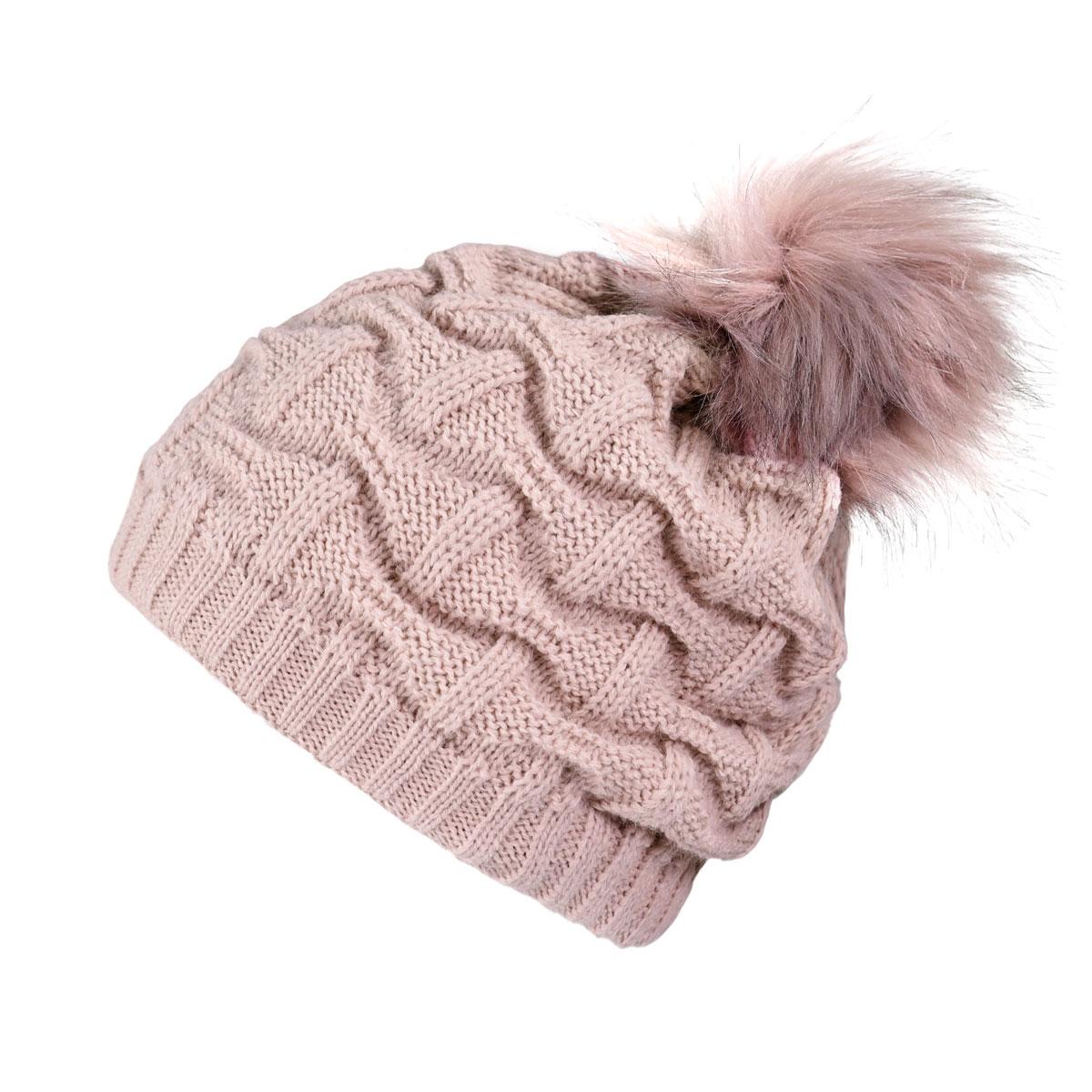 _Bonnet-femme-pompon-rose