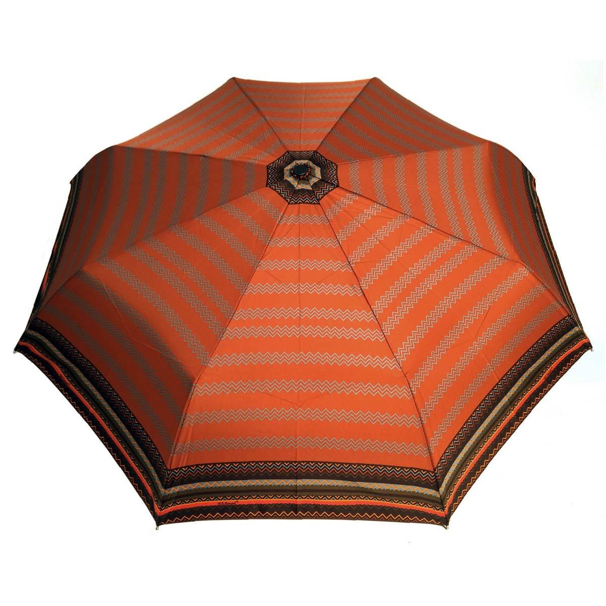 _Parapluie-pliant-automatique-femme-zig-zag-orange