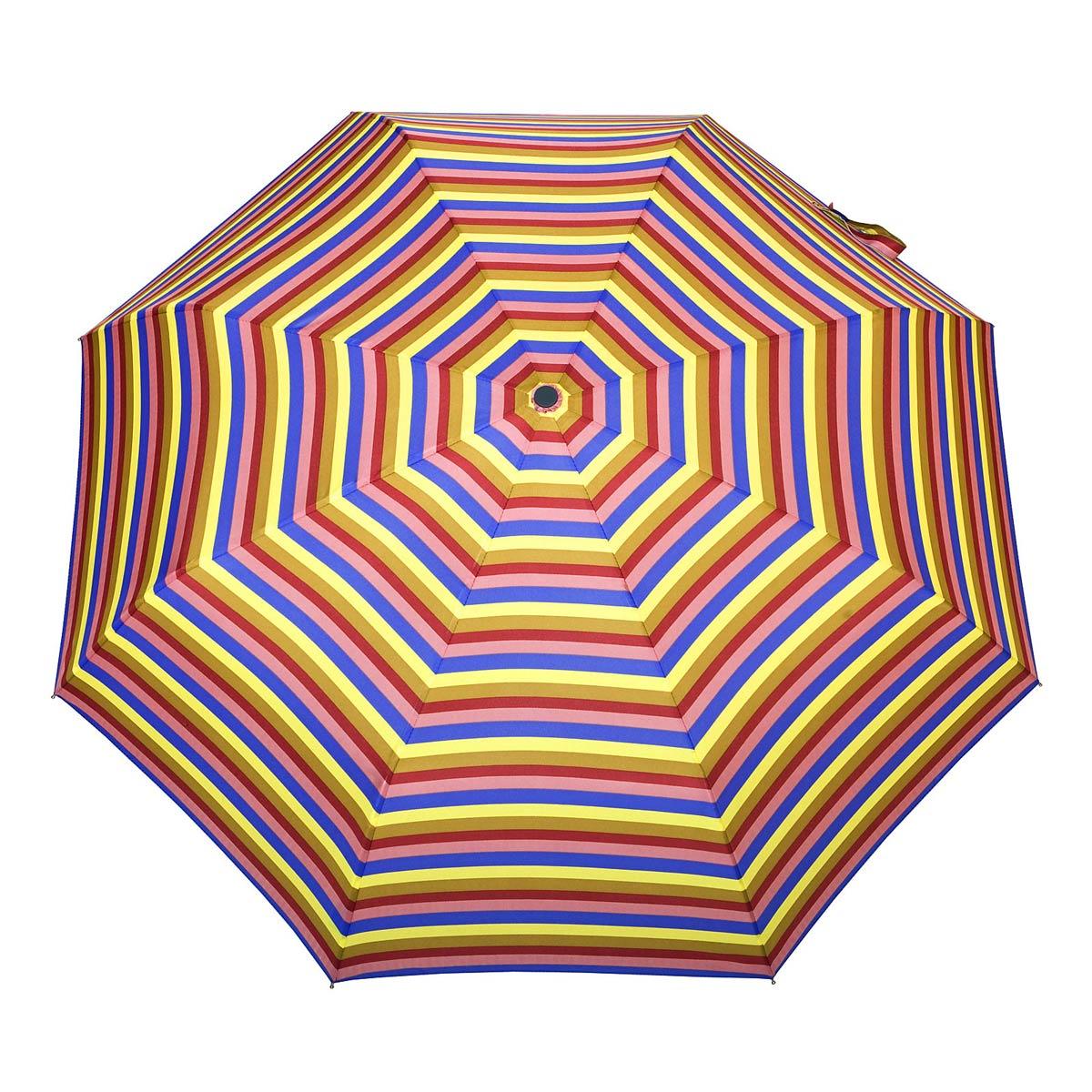 _Parapluie-pliant-automatique-femme-rayures-multicolores