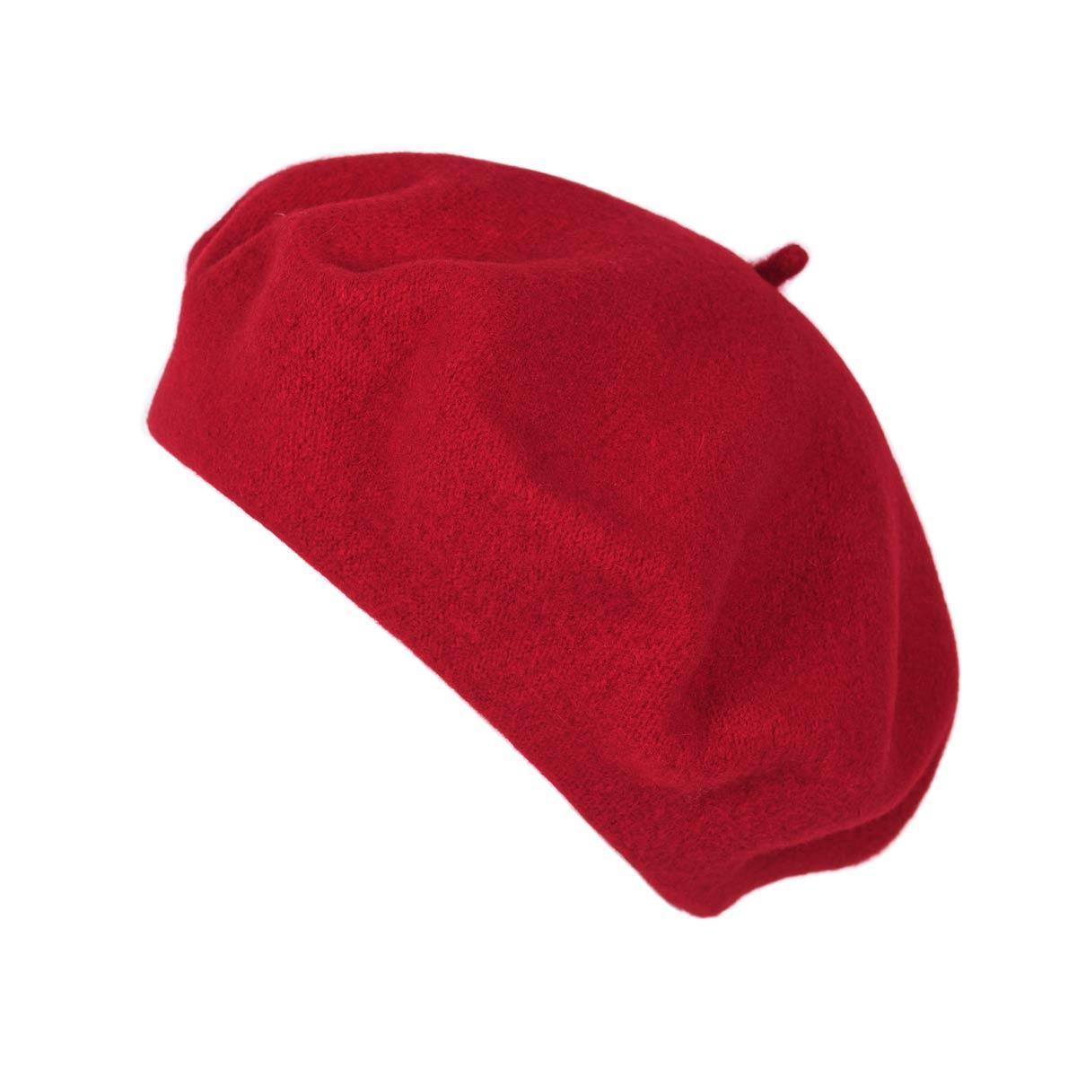 _Beret-femme-hiver-rouge