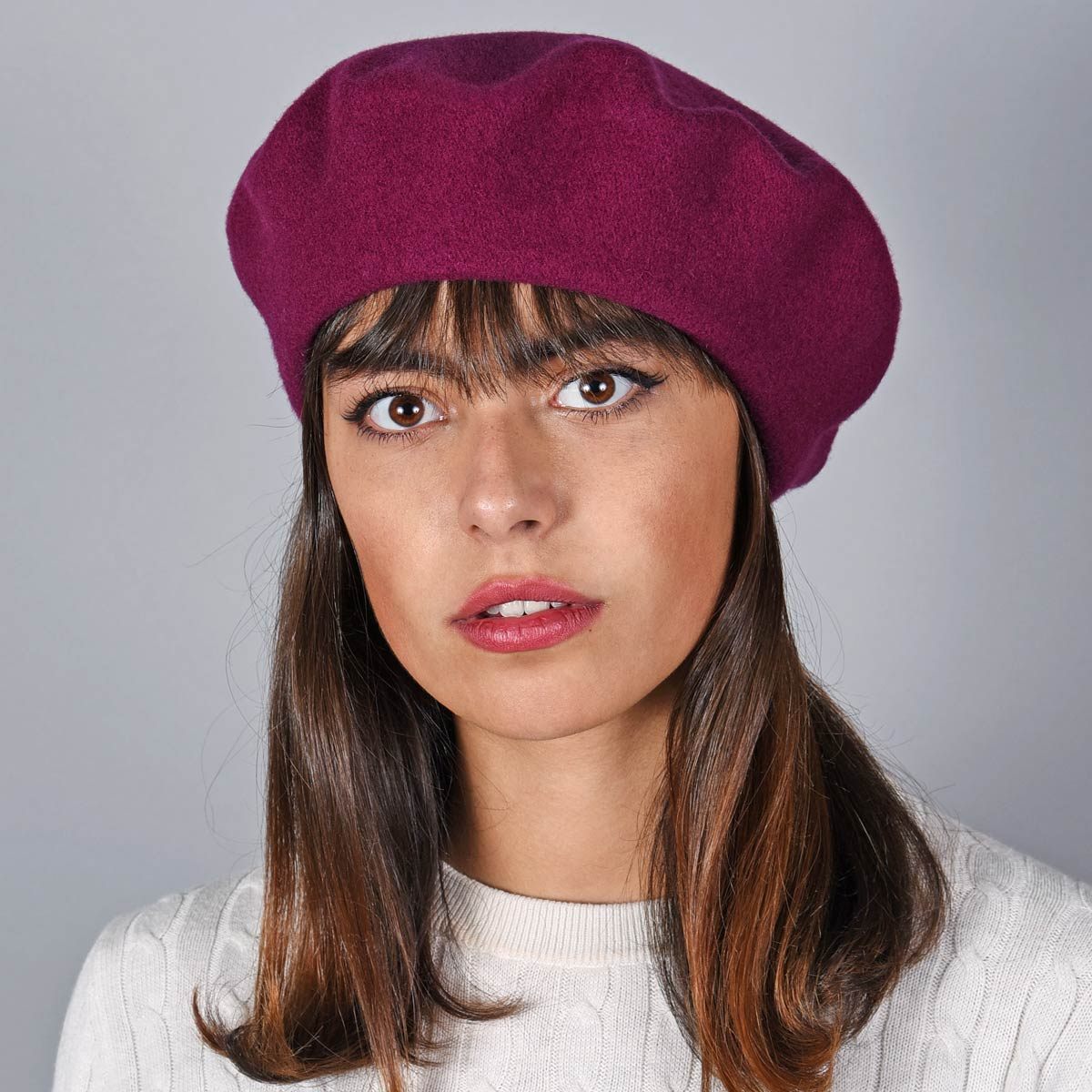 _Beret-femme-laine-violet