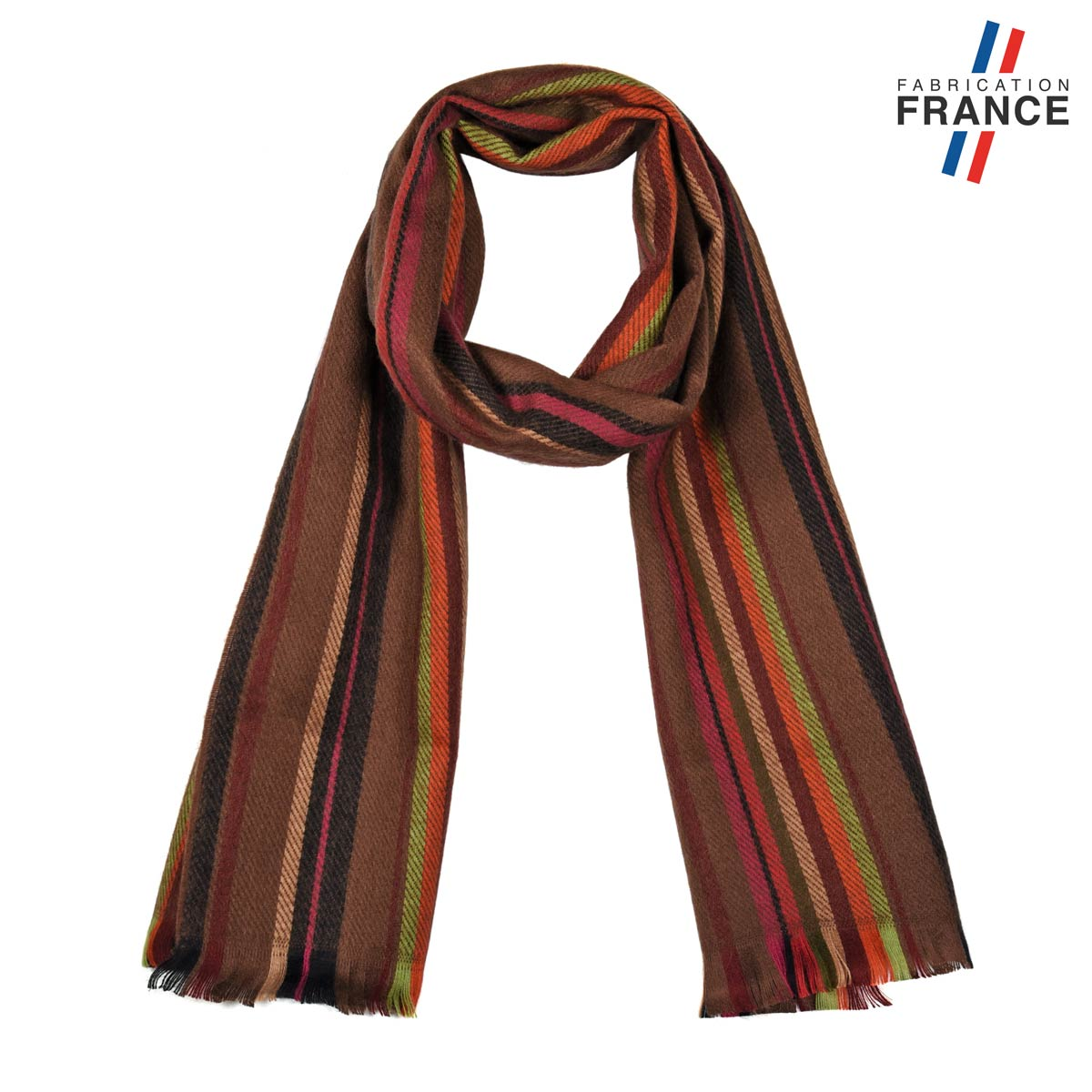 AT-05614_F12-1FR_Echarpe-rayee-marron-made-in-france